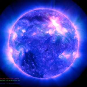 ALMOST-X-FLARE-AND-CME